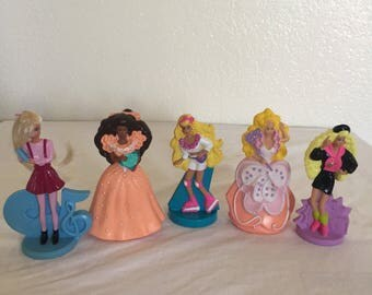 1992, 93, 95 Mcdonalds Barbie Happy Meal Toys!