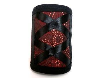 Stir rust fabric Cuff Bracelet
