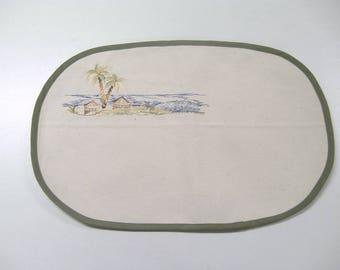 placemat African landscape