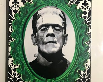 Universal monsters-Choose from Dracula, Frankenstein, Bride of Frankenstein, Creature from the Black Lagoon & Wolfman 8x10 wall art