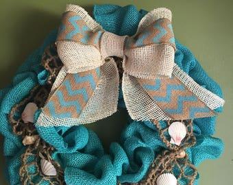 Ocean Themed Wreath