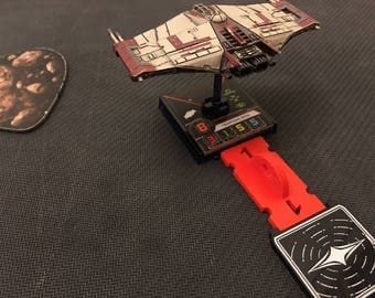X-Wing Miniatures Bomb Template