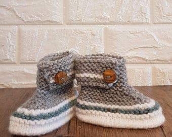 baby soks, boots, shower gift, girl or boy