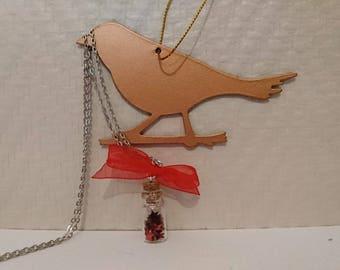 Glitter star pendant necklace