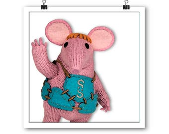 The Clangers unframed print