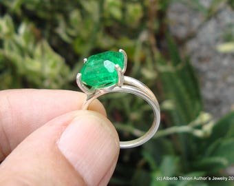 emerald ring emerald jewelry colombian emerald