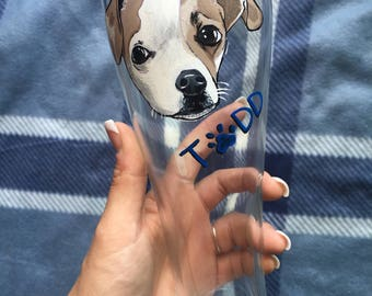 Pet Portrait Beer Glass