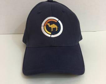 90's Camel Cigarettes Blue Flexfit Hat OSFM