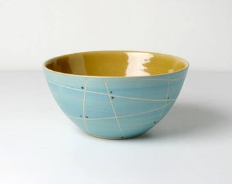 Hand-thrown cereal Bowl, gifts for her