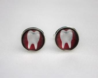 Dental Cufflinks Dentist Jewelry