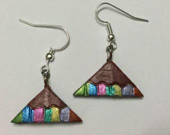 Beautiful Terracotta Earrings