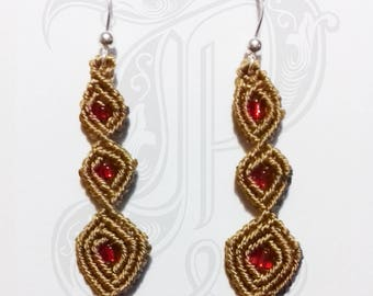 MACRAME EARRINGS M1702
