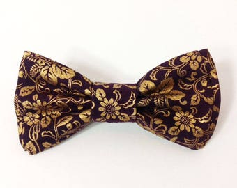 Mens Bow Tie, Formal Bow Tie, Suit Bowtie, Brocade Bow Tie, Prom Bow Tie, Wedding Bow Tie, Mens Fashion Accessories, Mens Bowtie DS759