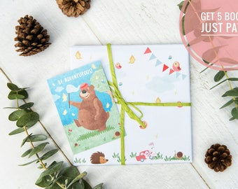 A Personalized & Inspiring Children's Premium Book (Hardcover) for Xmas