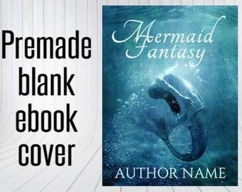 Premade Blank Ebook Cover - Mermaid Fantasy