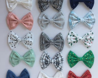 Big Double Bow Hair Bows