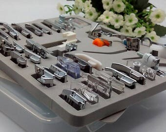 32PCS WITH English instructions Sewing Presser Foot