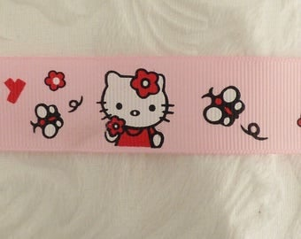 GROS GRAIN CAT PINK RIBBON
