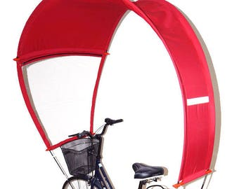 Red cover for your bike