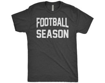 Football Season Shirt, It's Football Y'All, Fantasy College Football, Thanksgiving, Game Day Shirt, Next Level Apparel Tri-Blend Shirt