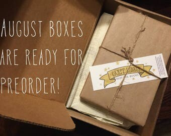 AUGUST Pre-Order Surprise Book Box FREE SHIPPING