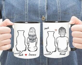 Personalized Pitbull Mug, Pitbull Mug, Custom Dog Mom, Dog Lover Gift, Gift For Dog Mom, Gift For Pitbull Mom