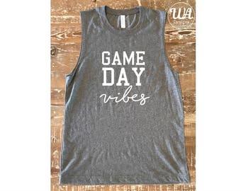 Game day vibes shirt, game day shirt, baseball, Baseball mom shirts, boy mom shirt, baseball shirt, mom shirts, customized shirts,