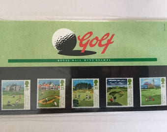 Golf Royal Mail Mint Stamps Presentation Pack 1994