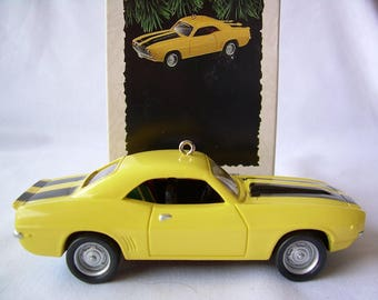1995 Hallmark Ornament 1969 Chevrolet Camaro # 5 Series