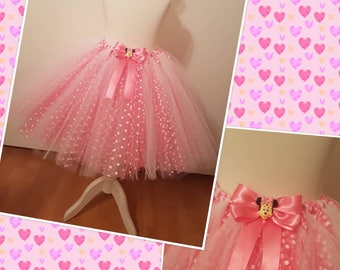 Minnie Mouse inspired tutu skirt