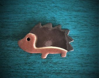 Ceramic Hedgehog Magnet