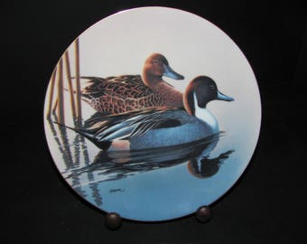 The Federal Duck Stamp Plate 'Pintails' 1991