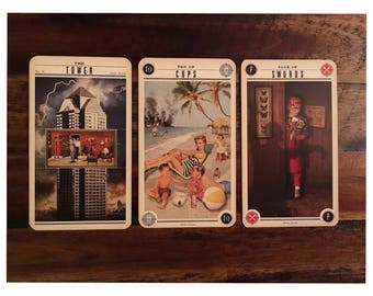 3 Card Reading from The Zombie Tarot Deck ~ Email Reading with PDF File