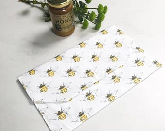 iPad case, tablet case, Manchester bee, ipad bag, ipad clutch case, tablet case, tablet clutch case, ipad wallet, tablet wallet