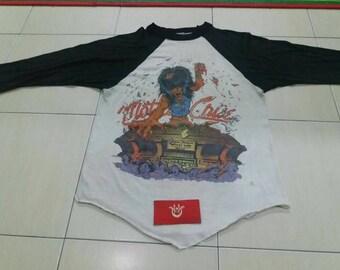 Motley crue stadium vintage 80s shirt
