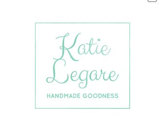 Premade Logos for Small Business // Baby Logo // Minimalist Logo // for Knitting, Sewing, Crocheting, Quilting