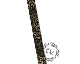Leopard Pacifier//Binky Clip