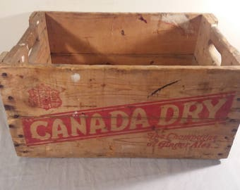 1960 Canada Dry Crate