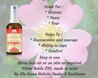 Emergency Essence Mist with pure essential oils 100mls