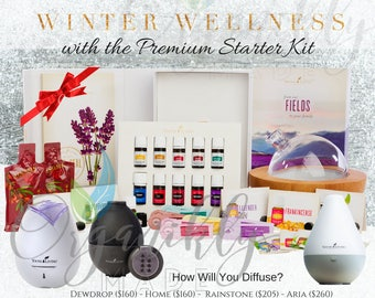 Young Living Essential Oils Premium Starter Kit Graphic Holiday