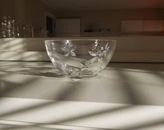 Tiffany And Company,small crystal bowl
