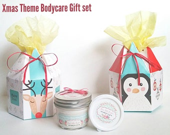 Christmas Gift Set - Mix and Match - Body care - Best skin care - Body butter - Best Body cream - organic body lotion - christmas present