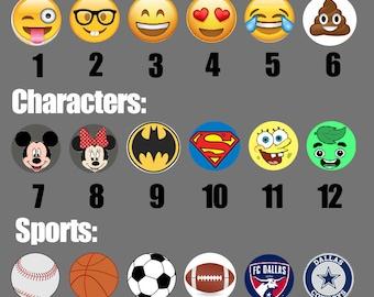 FIDGET SPINNERS-Custom disney/mickey/minnie/emoji/sports/spongebob/guava juice/superman/batman/fc dallas/cowboys/baseball/football