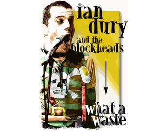 Ian dury etsy t shirt ian dury and the blockheads classic t shirt ladies solutioingenieria Image collections