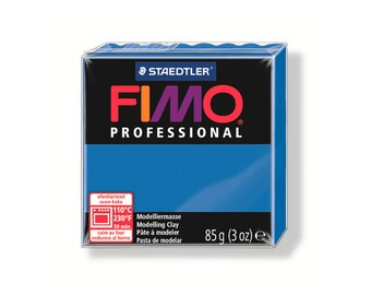 Polymer clay Fimo Pro 85 g - blue pure No. 300