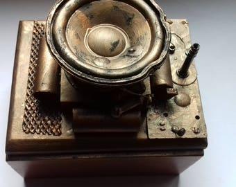 Nice little box retro futuristic steampunk