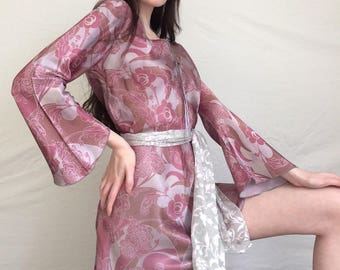 groovy vintage 60s/70s dress