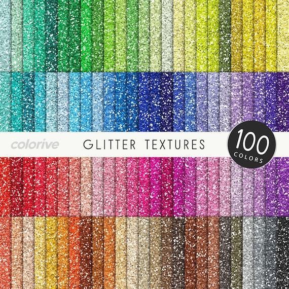 glitter digital paper 100 rainbow colors glitter textures. Black Bedroom Furniture Sets. Home Design Ideas