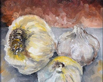 Garlic - Painting a Day Series