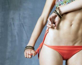 Double face bottom bikini, beachwear, biquíni, summer, estate, verão, spiaggia, praia